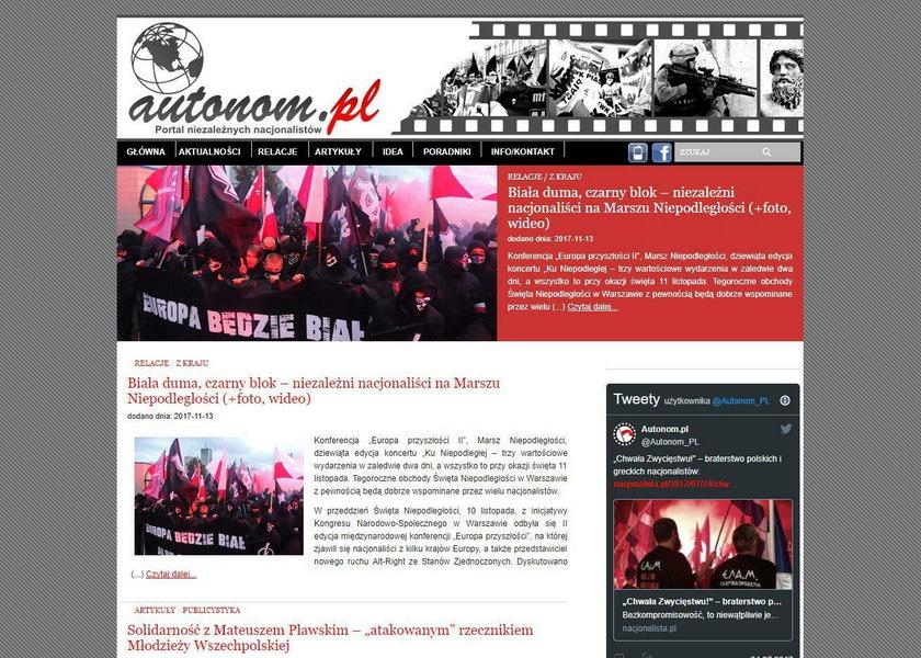 Strona autonom.pl