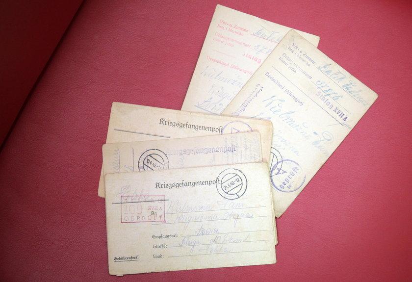 Kartki z obozu jenieckiego