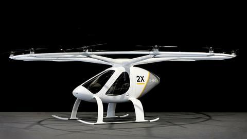 Testy Volocoptera rozpoczną się pod koniec roku w Dubaju. Mimo autonomiczności - będzie latać w nim pilot