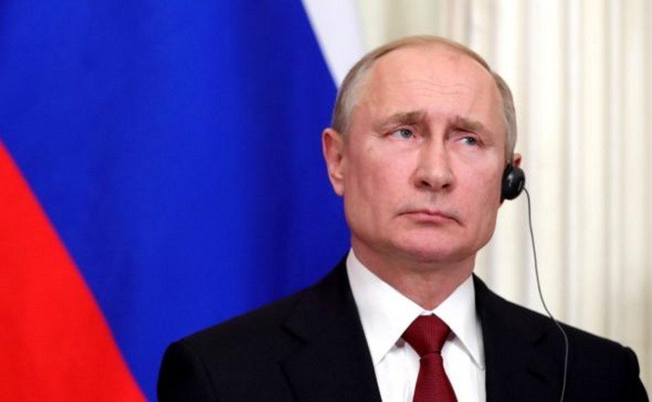 Prezydent Rosji Władimir Putin for. kremlin.ru