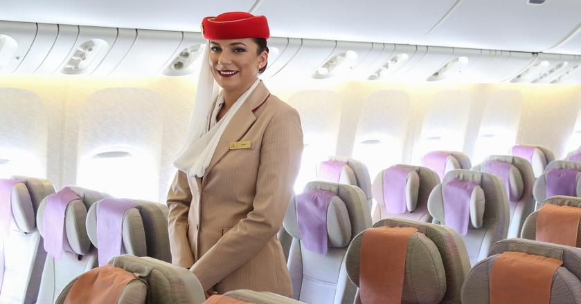 Paulina Szygenda jest stewardessą w liniach Emirates od 3,5 roku