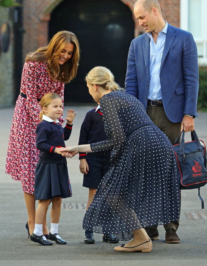 Kejt Midlton sa sinom i ćerkom