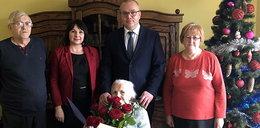 105 lat babci Eleonory