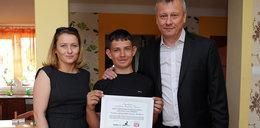 Kasa Stefczyka wraz z Fundacją Faktu pomogła Dawidkowi