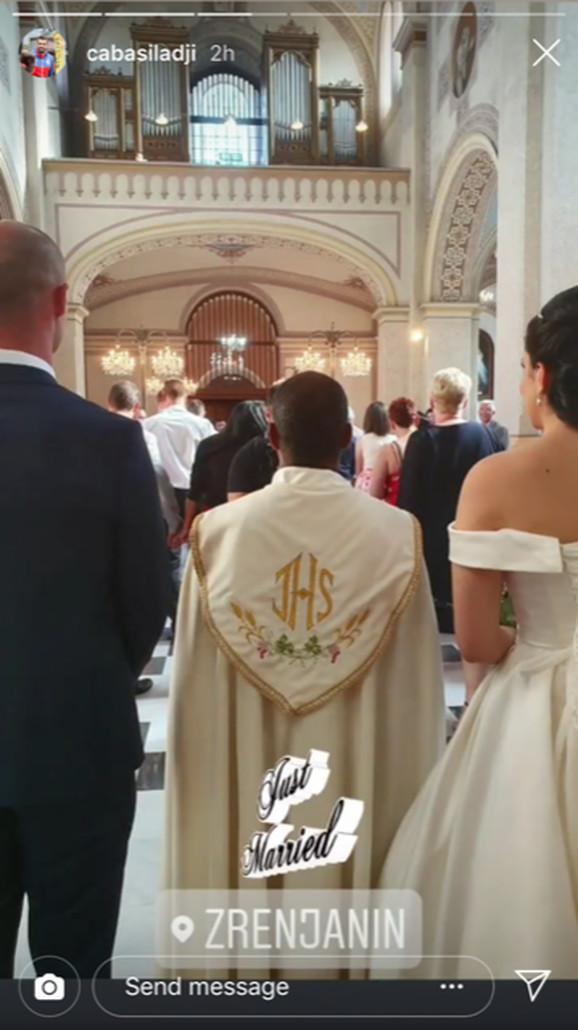Venčanje Ivana Lenđera u crkvi