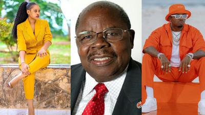 Diamond, Jokate Mwegelo and Mbosso lead celebrities in Mourning Former President Benjamin Mkapa
