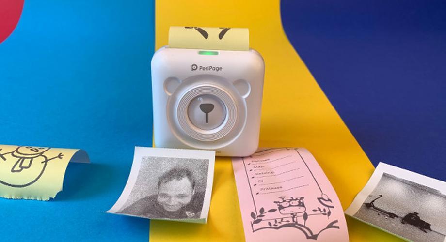 Peripage A6 im Test: Foto-Sticker-Drucker für 35 Euro
