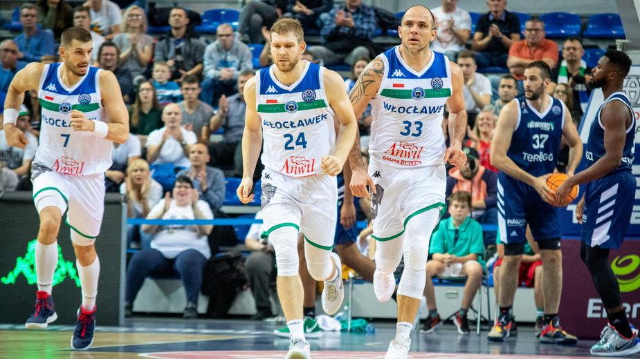 Mecz Basketball Champions League 2019, pomiędzy Anwil Włocławek a EB Pau-Lacq-Orthez