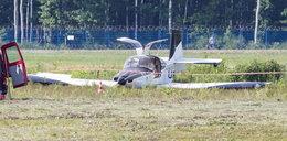 Wypadek samolotu pod Rzeszowem. Poseł na pokładzie