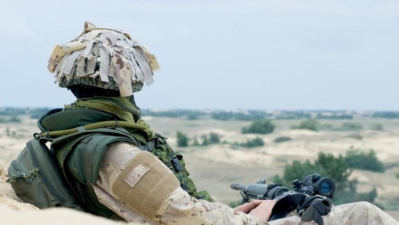 Polscy żołnierzy wykryli pod jedną z afgańskich wiosek arsenał talibów