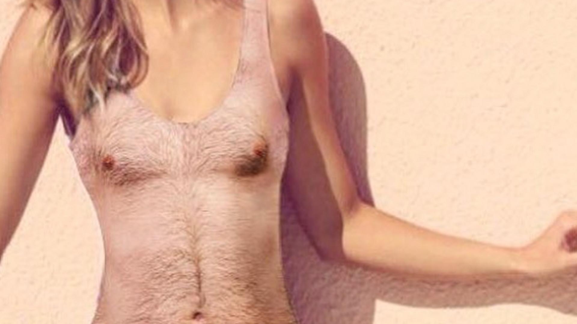 Es Gibt Jetzt Badeanzüge Mit Männerbrust Aufdruck Noizz