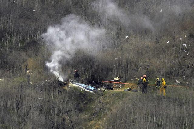 Srušen helikopter Kobija Brajanta