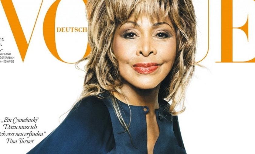 Tina Turner w niemieckim Vogue'u