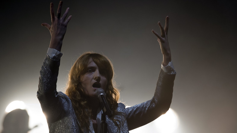 Florence Welch na Glastonbury 2015