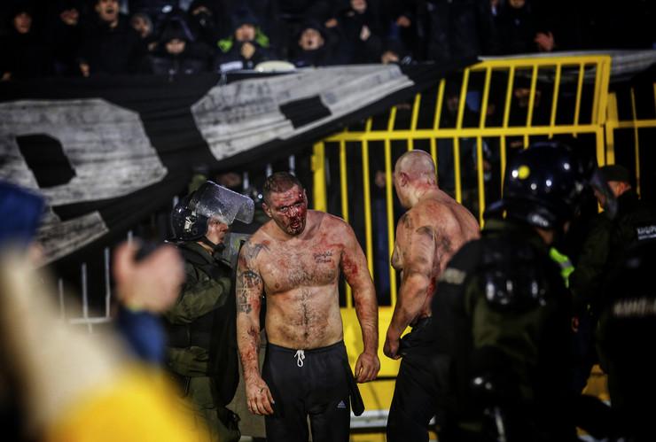 Derbi, FK Partizan, FK Crvena zvezda, Navijači