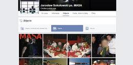"""Gangster """"Masa"""" założył profil na Facebooku"""