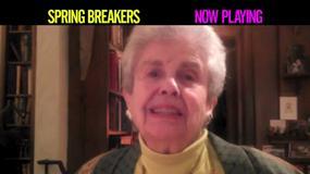 "Babcia Jamesa Franco reklamuje ""Spring Breakers"" - Filmowy Flesz"