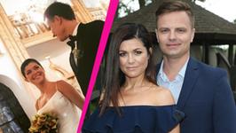 Katarzyna Cichopek i Marcin Hakiel świętują rocznicę ślubu. Aktorka pokazała zdjęcia z ceremonii