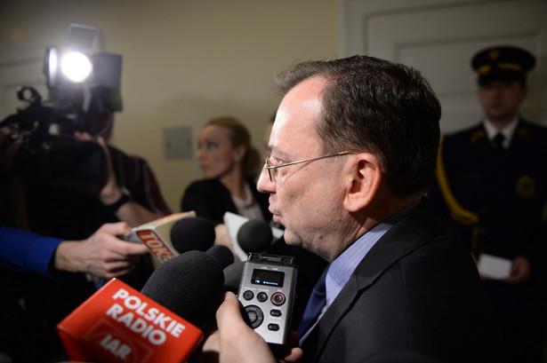 Kamiński powiedział, że nie przedstawi listy nazwisk, bo trzeba znaleźć dobrą formułę prawną, by możliwie pełny obraz tych działań trafił do opinii publicznej
