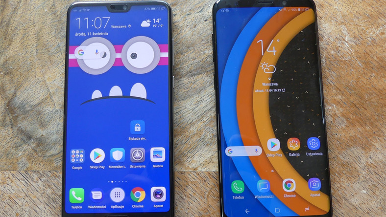 Huawei P20 Pro i Samsung Galaxy S9+