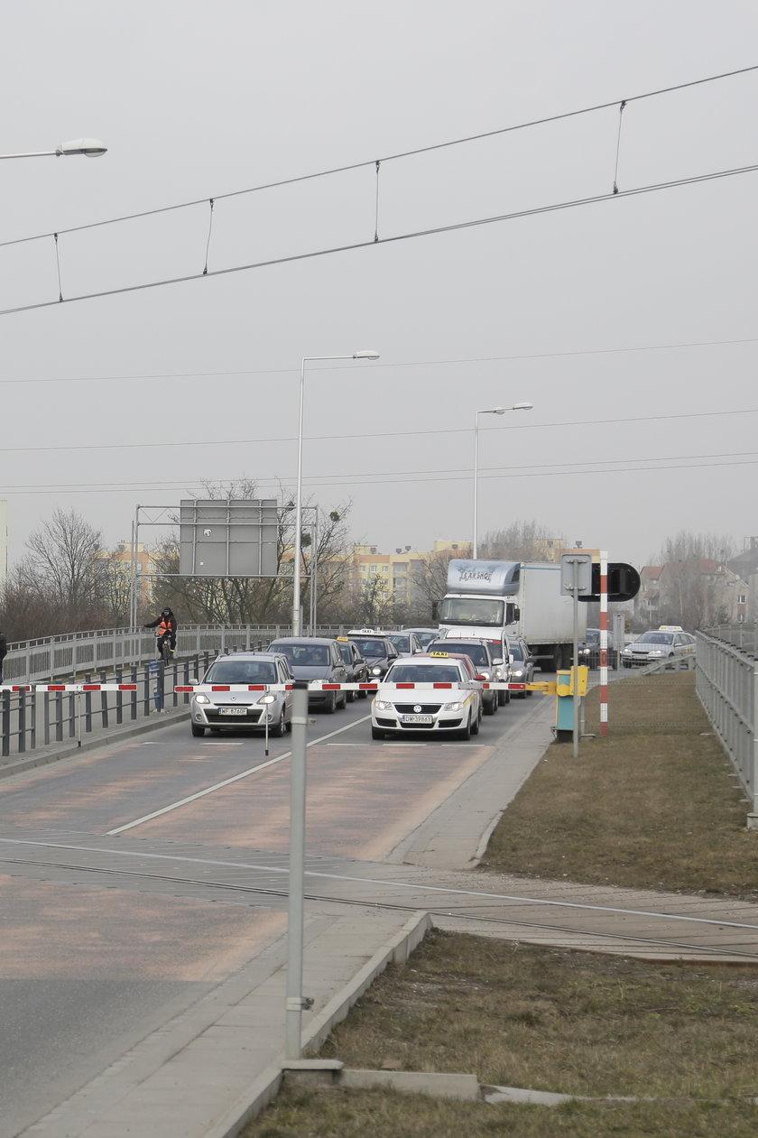 Przejazd kolejowy na ul. Strzegomskiej