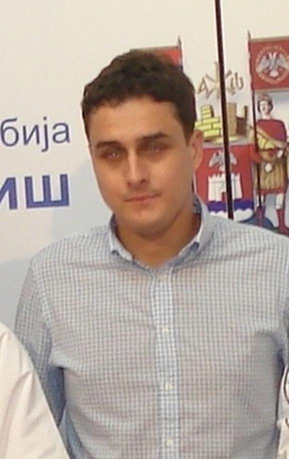 Gradski većnik Branislav Kačar iz Niša