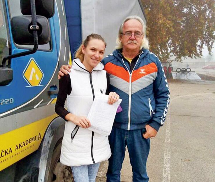 vozačka akademija, Milkica Divnić, žena kamiondžija