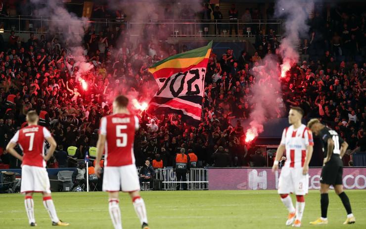 FK PSŽ, FK Crvena zvezda