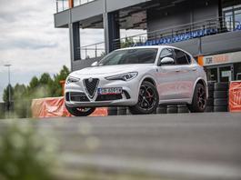 Alfa Romeo Stelvio Quadrifoglio - ekstraklasa szybkich SUV-ów