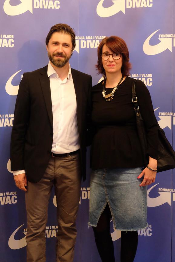 Nebojša Milovanović sa suprugom Tijanom