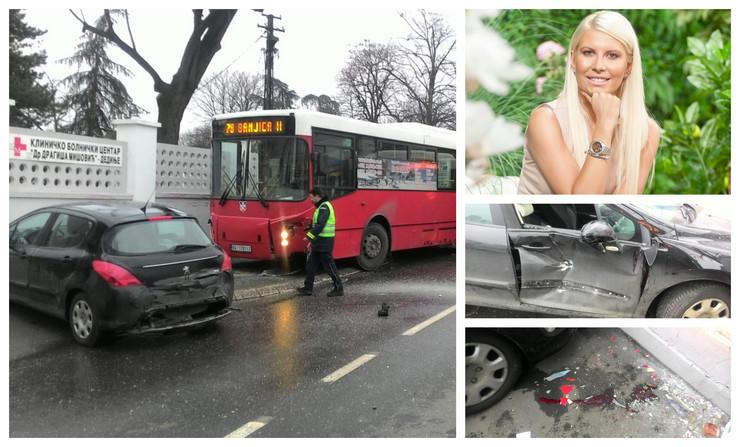 Do stravične nesreće na Dedinju u kojoj je povređena Dea Đurđević došlo je zbog zaleđene ulice