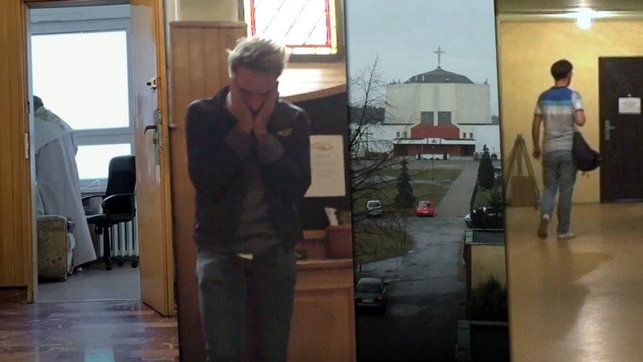 """Fragmenty filmu """"Zabawa w chowanego"""" reż. T. Sekielski"""