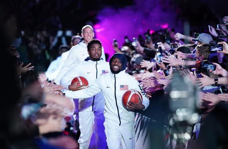 Košarkaška reprezentacija SAD, Košarkaška reprezentacija Australije