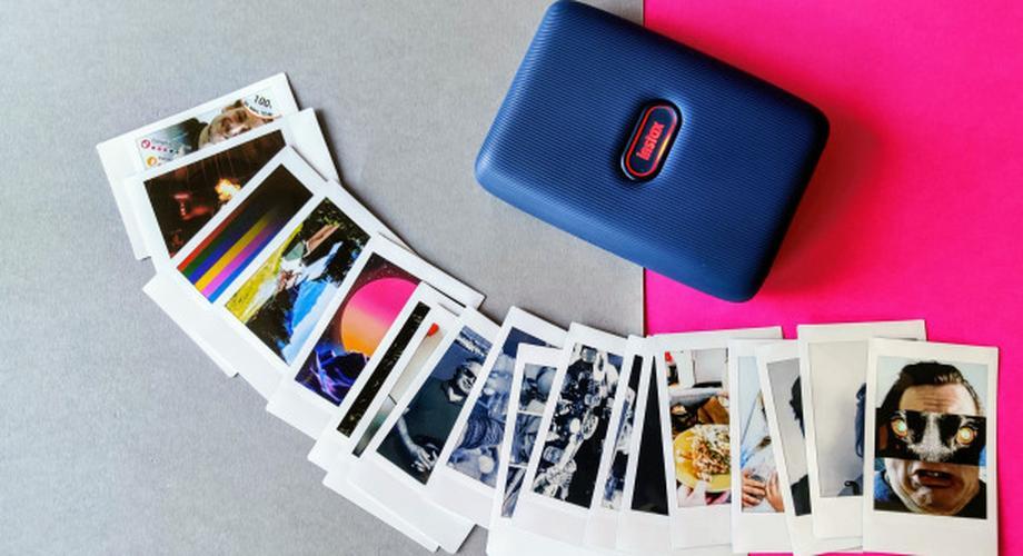 Mini-Fotodrucker im Polaroid-Stil: Instax Mini Link im Test
