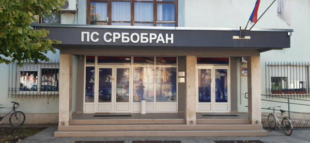 Policijska stanica Srbobran na koju je sinoć bačena bomba