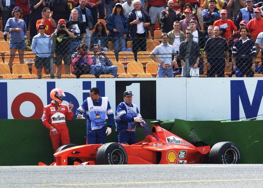 Michael Schumacher wciąż wysoko w rankingu Forbesa. Pierwszy Jordan