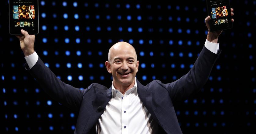 Jeff Bezos, założyciel Amazona, nie boi się podejmować ryzyka i przepalać pieniądze na nowe projekty