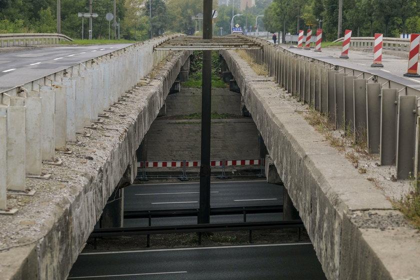 Katowice. Remont wiaduktu przy ul. Bohaterów Monte Cassino