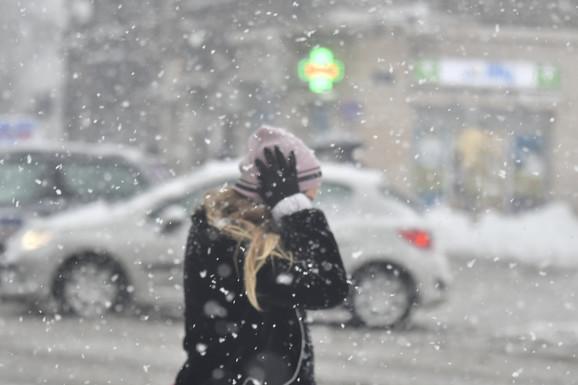 Sneg u Novom Sadu
