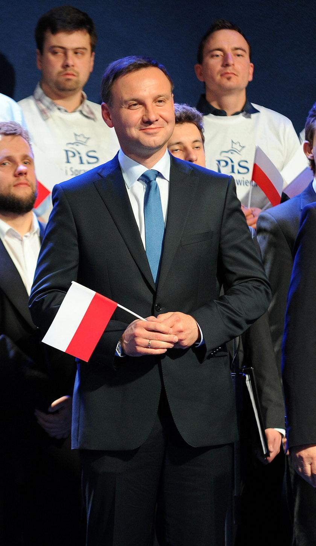 Andrzej Duda (42 l.), PiS