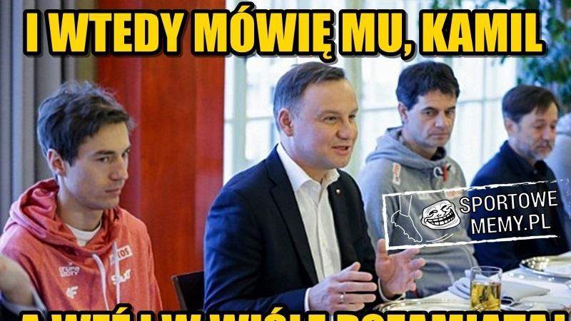 PŚ w Wiśle: Kamil Stoch zdeklasował rywali. Memy po triumfie Polaka