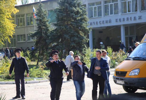 Krym: Atak i wybuch ładunku w szkole