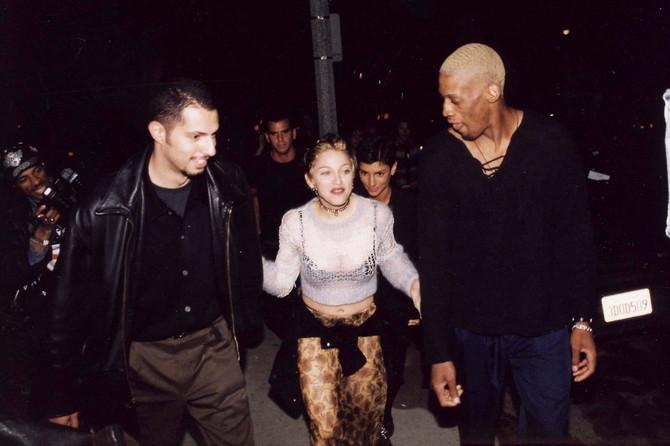 Denis Rodman i Madona