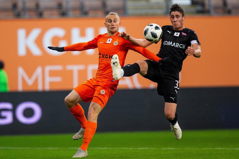 Pilka nozna. Ekstraklasa. Lech Poznan - Cracovia Krakow. 29.07.2018