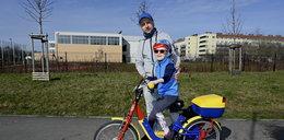 Mała wojowniczka wsiadła na wymarzony rower. Niech Tereska będzie dla wszystkich inspiracją!