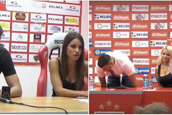 KADA SANJA I TANJA PRIČAJU, O FUDBALU NIKO NE RAZMIŠLJA Pogledajte kako izgledaju devojke koje su zaludele fudbalsku Srbiju /FOTO/