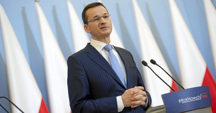 Minister Finansów i Rozwoju, wicepremier Mateusz Morawiecki