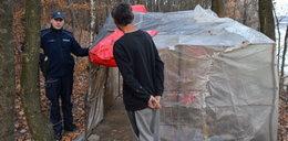 W lesie pod Krakowem koczuje 60-letni bezdomny z Korei Południowej