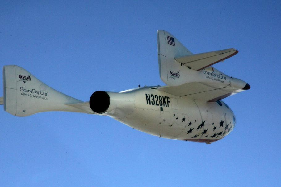 SpaceShipOne Flight Two