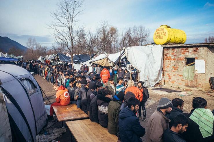 migranti Vucjak zima